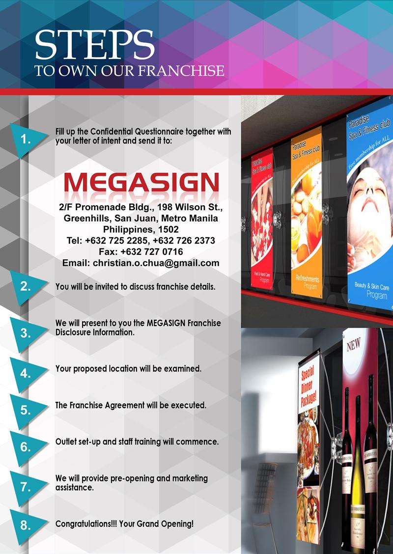 megasign - steps